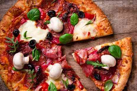 Max Italia - Pizza or Pasta For Two  - Save 47%