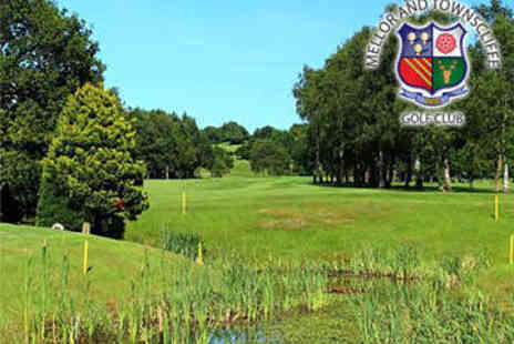 Mellor & Townscliffe G C  - Round of Golf for Two - Save 0%