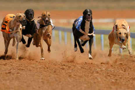 Love The Dogs  - Greyhound Racing with Burgers for Two - Save 0%