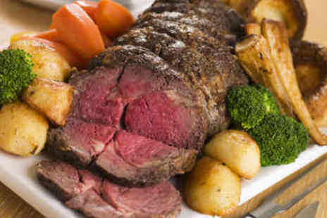 Aberdeen Steak House - Two Course Sunday Roast for Two - Save 60%