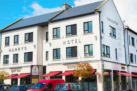 Harrys of Kinnegad  - One or Two Nights Stay For Two With Breakfast, Dinner and Late Check Out  - Save 0%