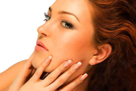 M & K Hair and Beauty Salon - £19 for a full set of nail extensions and a full body spray tan worth £50 - Save 62%
