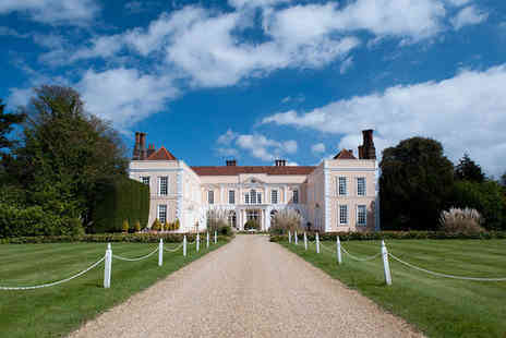 Hintlesham Hall Hotel - Two nights Stay in a Large Principal Room - Save 31%