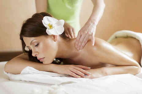Exquisite Hair & Beauty - Hour long warming aromatherapy oil massage and a glass of bubbly  - Save 60%