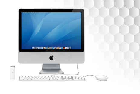 We Sell Mac - Grade A refurbished 160GB 20 inch Apple iMac Core 2 Duo desktop computer with 2GB RAM, wireless keyboard and mouse  - Save 0%