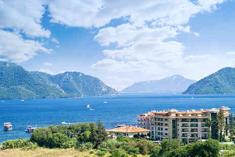 Blue Sea Holidays - Four or Seven night 4 Star all inclusive Turkey stay with flights and Marmaris City tour  - Save 21%