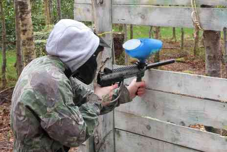 The Paintball Venue - Paintball with Lunch and Hot Drinks for Two, Five, 10 or 20  - Save 88%