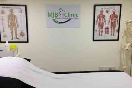 MJB Clinic - Pregnancy Osteopathy Consultation with a Treatment  - Save 73%