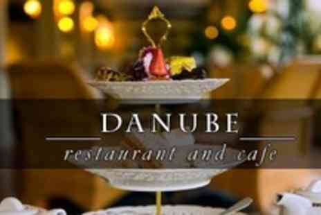 Danube Restaurant - Afternoon Tea For Four With Glass of Bubbly Each - Save 61%