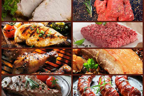The Meat Man -  54 piece meat hamper including steaks, sausages and more   - Save 27%
