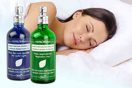 World Foods Brand Management  -  100ml bottle of organic pillow or airways spray  - Save 60%