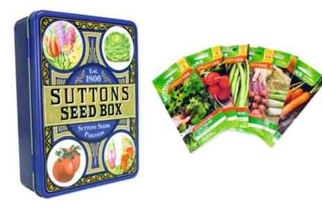 Suttons - Sutton Seed Collection With Free Delivery - Save 71%