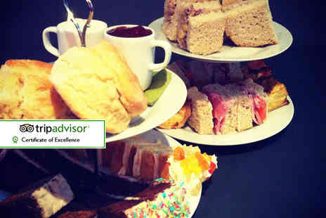 The Rustic Coffee Company  - Afternoon tea for two  - Save 32%