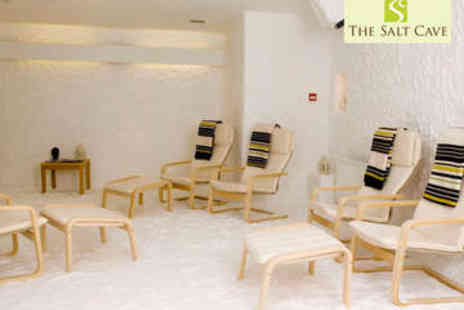 The Salt Cave - Salt Therapy Session - Save 57%