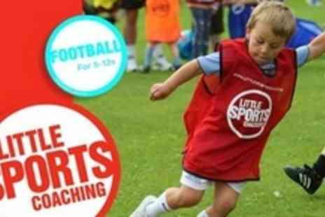 Little Sports Coaching - Ten Sessions of Mini Soccer For One Child - Save 62%
