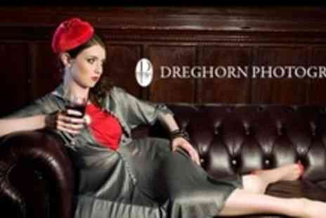 Dreghorn Photography - One Hour Photo Shoot With Two Prints - Save 62%