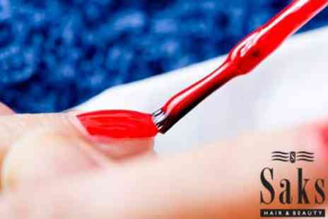 Saks Hair & Beauty - Spa Manicure  - Save 0%