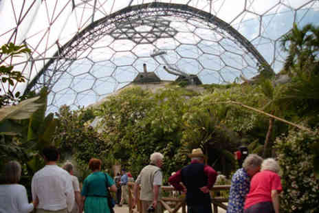 The Eden Project - Visit the Eden Project For Two Adults and Two Children - Save 0%