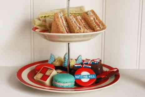 Biscuiteers Boutique - London Themed Afternoon Tea with Prosecco for Two  - Save 0%