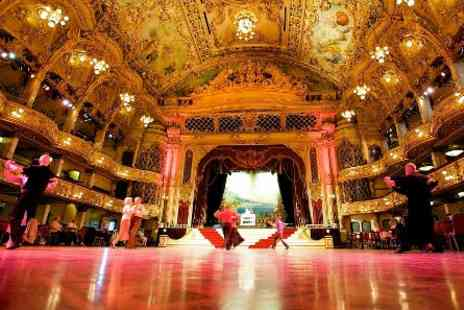 The Blackpool Tower - The Blackpool Tower Ballroom Afternoon Tea for Two - Save 0%