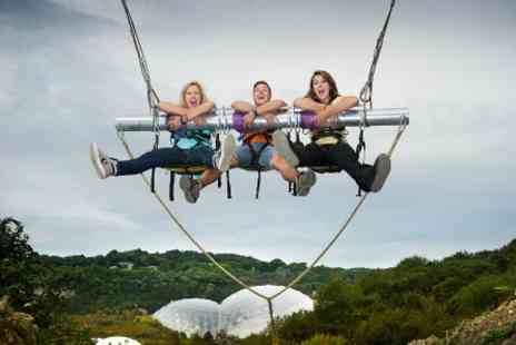 The Eden Project - Visit to The Eden Project with Skywire Experience and Gravity Swing - Save 0%