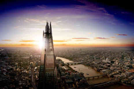 The View  - The View from The Shard  Day and Night Tickets for Two Adults - Save 0%