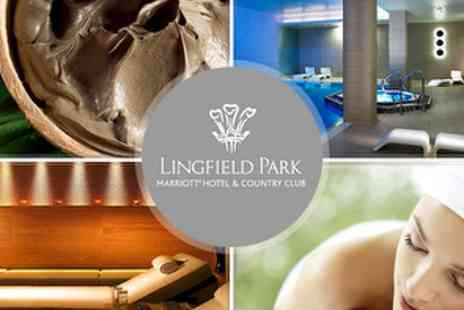 Breathe Spa at Lingfield Park Marriott Hotel - £20 Spa Day inc Luxury Mud Serail Bath Treatment - Save 64%