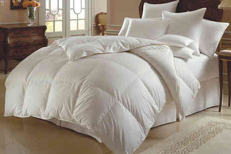 Rynz Collection -   13.5 tog duck feather and down duvet - Save 0%