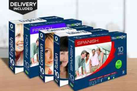 LivingSocial Shop - Rosetta Stone Tell Me More DVD Language Course - Save 80%