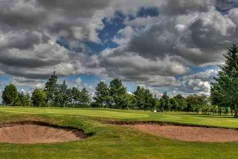 Oldmeldrum Golf Club - 18 Holes Plus 40 Range Balls Each For One, Two or Four  - Save 55%