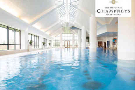 Champneys Springs - Spa Day for Two with Three Course Lunch and Treatment - Save 46%