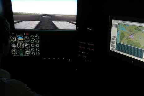 Leading Edge Flight Training - Flight Simulator Experience Half Hour or One Hour - Save 51%