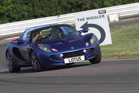 Experience Limits - Lotus Elise Three or Six Lap Driving or Passenger Experience  - Save 0%