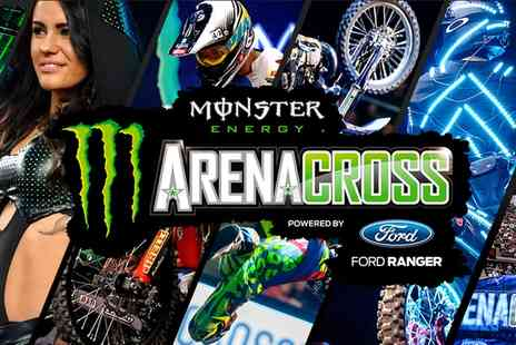 Monster Energy Arenacross Tour 2016 - Child or Adult Entry On 27 February - Save 0%
