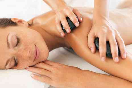 Enzo Beauty - One Hour Hot Stone or Swedish Massage or a Choice of Facial - Save 63%