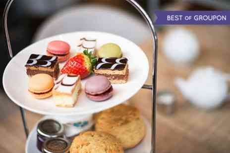 Wyevale Garden Centres - Indulgent Spring Afternoon tea for Two or Four with Springtime Patisserie and Scones   - Save 38%