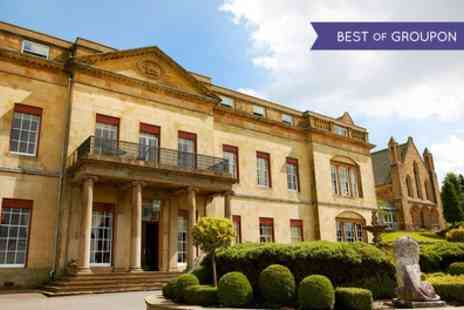 Shrigley Hall Hotel - One or Two Nights Stay For 2 With Breakfast, Dinner, Wine and Leisure Access - Save 0%