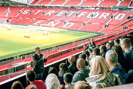 Manchester United Football Club - Manchester United Football Club Stadium Tour with Meal in the Red Cafe for One Adult and One Child - Save 0%