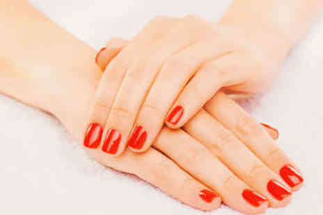 Lushious Luxuries Beauty Bar - Gel Manicure or Pedicure - Save 48%