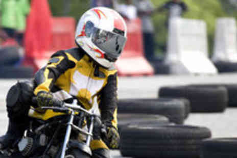 M4 Karting - 30 minute karting or mini moto experience - Save 60%