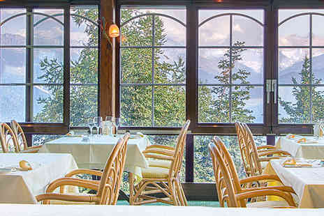 Hotel Restaurant Le Mont Paisible - A cosy, rustic hotel with breathtaking views over the Alps  - Save 58%