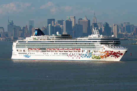 NCL Gem Cruise -  Seven Day cruise With One night Stay in a Standard Room at the Best Western JFK Airport - Save 32%