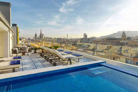 H10 Cubik - Two nights Stay in a Classic Barcelona Room - Save 65%