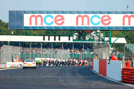 Silverstone - 2016 MCE Insurance British Superbike Championship Three Day General Admission for One on 8 to10 April 2016 - Save 0%