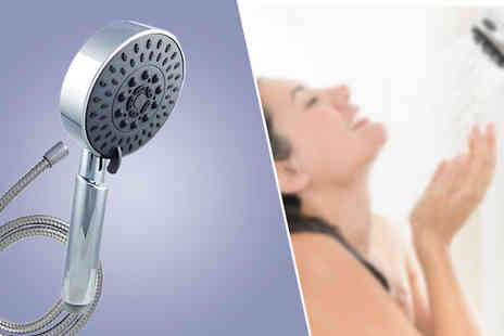 Z & U Online - Chrome Shower Head 1.5m Hose or 2m Hose - Save 73%