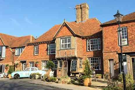 The Bell  Inn at Ticehurst - Overnight accommodation for two in a Lodge Room with Full English breakfast  - Save 49%