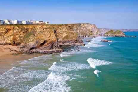The Windward Hotel - Two nights Newquay stay for two including a drink each and breakfast  - Save 59%