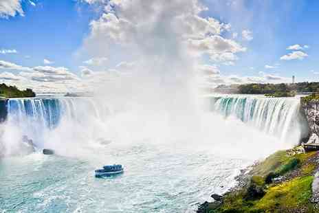 Jetline Travel  - Six Nights NY and Niagara Falls break including flights and helicopter tour option - Save 43%