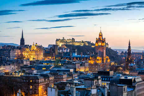 Tour Center - One or Two luxury central Edinburgh break including flights - Save 32%