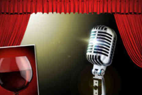 Hot Water Comedy Club - Four Friday night tickets to Hot Water Comedy Club, plus a glass of wine - Save 64%